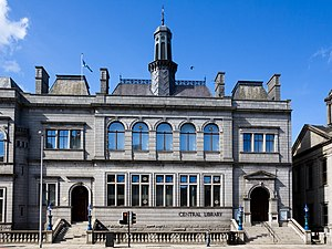 Central Library, Aberdeen - Aberdeen Central Library
