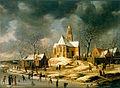 Abraham Van Beerstraten - The village of Midlum - Google Art Project.jpg