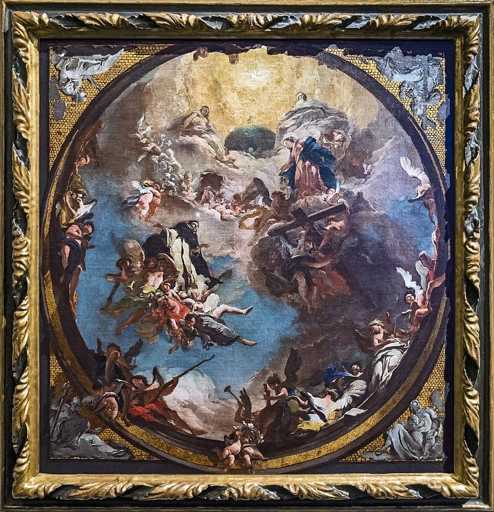 Accademia - Giambattista Tiepolo, San Domenico in gloria 1723
