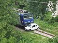 Accident train S.N.C.F. avec une voiture à Genève, Suisse.jpg
