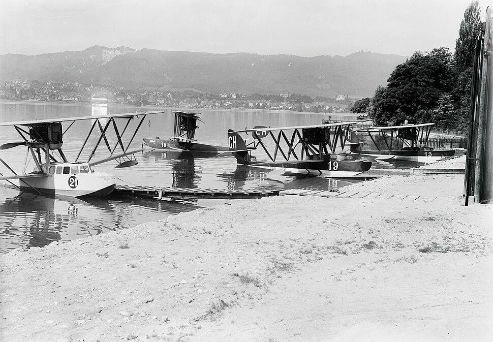 Ad Astra Aero - Zürichhorn - Albis-Fallätsche-Uetliberg - um 1920