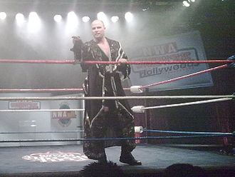 Adam Pearce - Pearce at an NWA TV Taping in 2008.