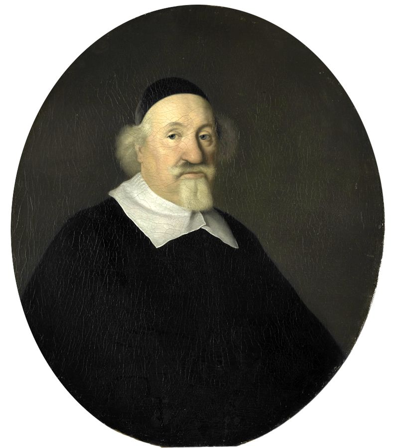 Portrait of Adriaen Besemer, Director of the Rotterdam Chamber of the Dutch East India Company, elected 1642