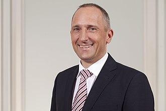 2013 Liechtenstein general election - Image: Adrian Hasler 01