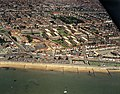 Aerial view of Southend seafront, east of the pier - geograph.org.uk - 1723513.jpg