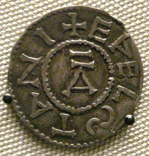 Imperial and US customary measurement systems - Silver penny of Aethelstan (924-939) from which the name pennyweight (dwt) was derived