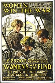 Affiche-guerre Femmes-au-travail