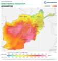 Afghanistan DNI Solar-resource-map GlobalSolarAtlas World-Bank-Esmap-Solargis.png