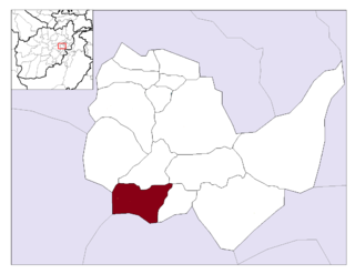 Char Asiab District District in Kabul Province, Afghanistan