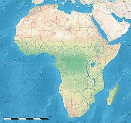 карта обитания черной мамбы