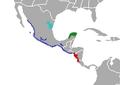 Agkistrodon-bilineatus range-map.png