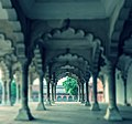 Agra Fort - Dewan i Aam Through the Pillars.jpg