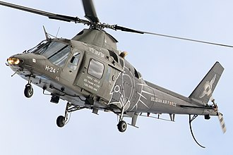 Belgian Air Component - Agusta A109 of the Air Component