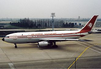 Air Algérie - Airbus A300-B4 of Air Algérie at Paris Orly Airport in March 1982.