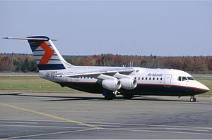 Air Atlantic BAe 146-200, 1994