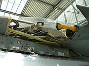 Aircraft engine MiG-23 sweep wing mechanism