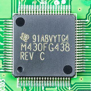 TI MSP430 mixed-signal microcontroller family