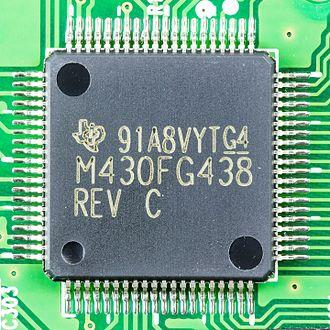 TI MSP430 - MSP 430 FG438 driving a glucose meter