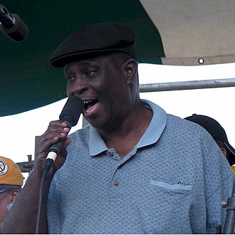 "Al ""Carnival Time"" Johnson - Johnson performing in New Orleans, 2007"