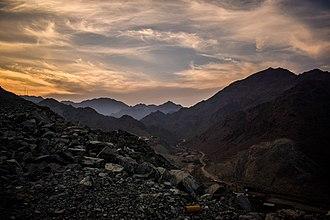 Fujairah - Al Hajar Mountains in Fujairah