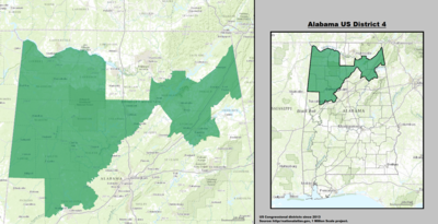 Alabama US Congressional District 4 (ekde 2013). tif