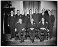 Alabama delegation made for Democratic digest. Seated (l-r)- Sen. John Bankhead; Speaker Bankhead; Sen. Lister Hill. Standing (l-r) Pete Jarman; Frank William Boykin; Henry Bascom Steagall; LCCN2016873237.jpg
