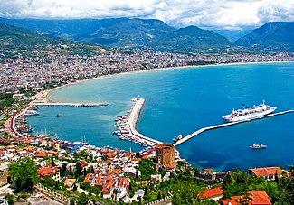Αλάγια είναι ένα σημαντικό παραθαλάσσιο τουριστικό θέρετρο στην Τουρκία 15bc84565f8