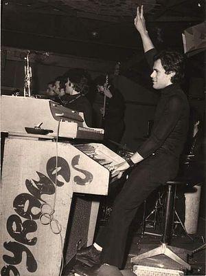 Albert Verrecchia - Albert Verrecchia with Pyranas in late 60s.