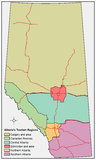 Alberta's tourism regions