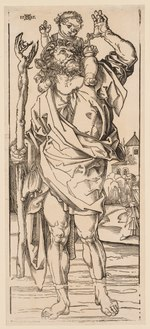 Albrecht Dürer - St. Christopher Crossing the Stream - 1925.146 - Cleveland Museum of Art.tif