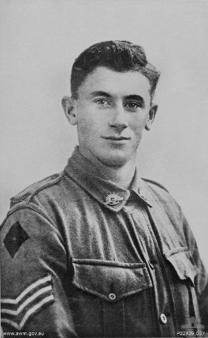 Alby Lowerson - Sergeant Alby Lowerson, c. 1916