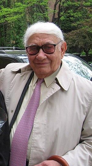 Photograph of Aldo Parisot taken at May 2005 C...
