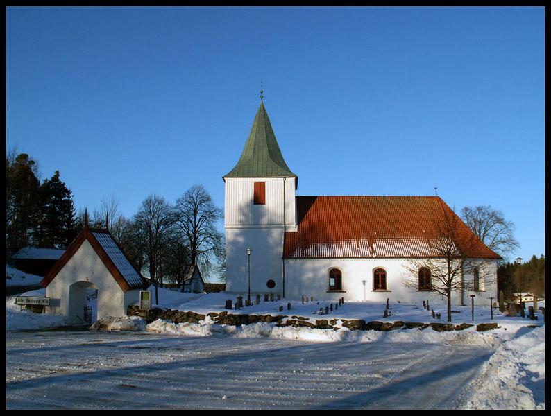 Ale-Skvde kyrka Interir av nordstra hrnet. Unknown