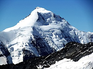 Francis Fox Tuckett - The Aletschhorn from the north