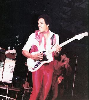 Alex Weir (musician) - Image: Alex Weir on Guitar 1980's, The Brothers Johnson