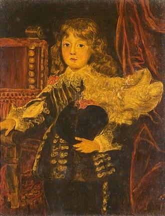 Alexander Farnese, Prince of Parma - Alexander Farnese as a boy, by Justus Sustermans