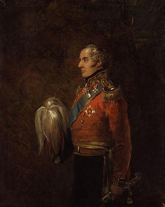 Alexander Fraser, 17th Lord Saltoun - Portrait by William Salter, c. 1837