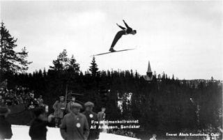 Alf Andersen Norwegian ski jumper