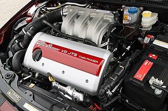 Alfa Romeo JTS engine - Image: Alfa Romeo Brera V6 engine