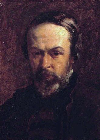 Alfred Elmore - Self portrait (1860s)