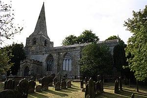 Brompton, Scarborough - Image: All Saints Brompton 2 (Nigel Coates)