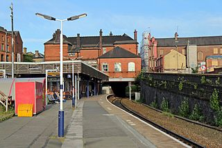 Wigan Wallgate railway station One of two railway stations in Wigan, Greater Manchester, England