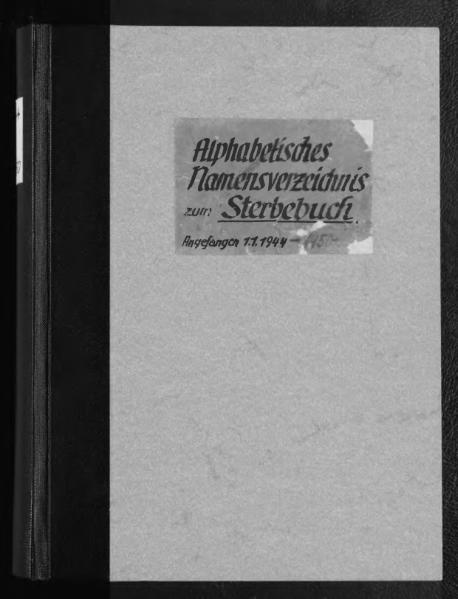 File:Alphabetisches Namensverzeichnis zum Sterberegister des Standesamtes Minden, 1944 bis 1950.djvu