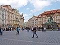 Altstädter Ring (Staroměstské náměstí) mit Jan-Hus-Denkmal, Praha, Prague, Prag - panoramio.jpg