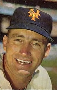 "A smiling man in a dark cap with an orange interlocked ""N"" and ""Y"" in the centre."