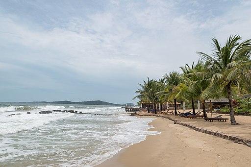 Amazing beach on Phu Quoc island Vietnam
