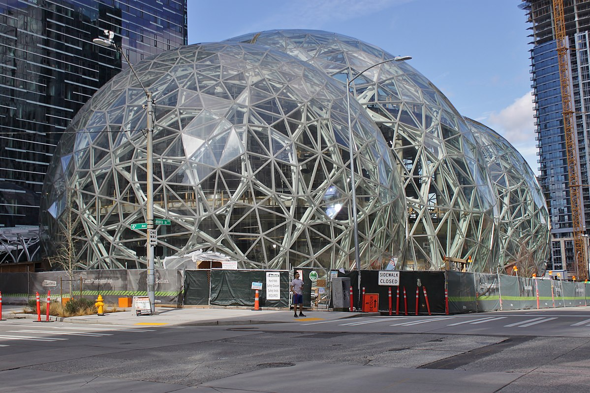 Amazon Spheres Wikipedia