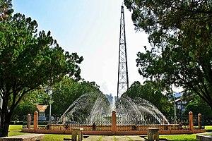 Kalamansig, Sultan Kudarat - Image: American Wireless Communication Tower at Kalamansig