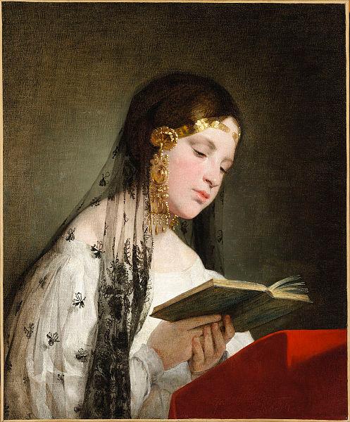 File:Amerling-Reading Woman.jpg