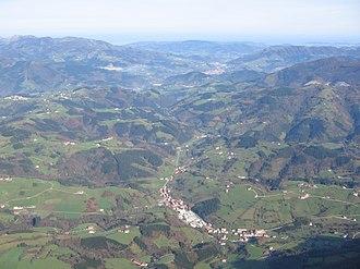 Tolosaldea - Partial view of Tolosaldea
